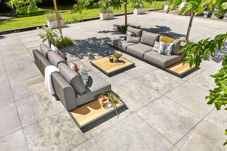 SUNS tuinmeubelen Kota Loungeset   Opstelling 4