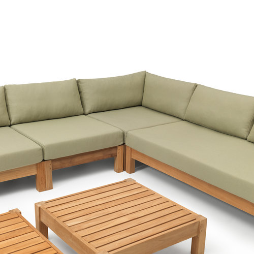 Wolfwood tuinmeubelen Coffee Bay Loungeset | Opstelling 12