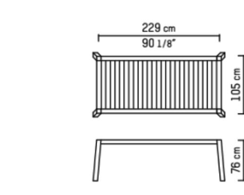 Anne 230 x 105 High
