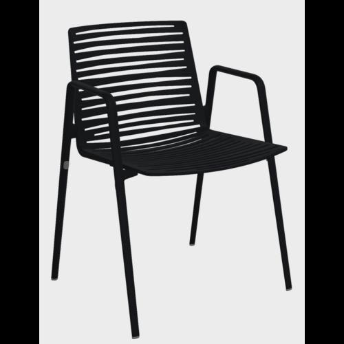 FAST Zebra | Tuinstoel | Met Armleuning | Fast