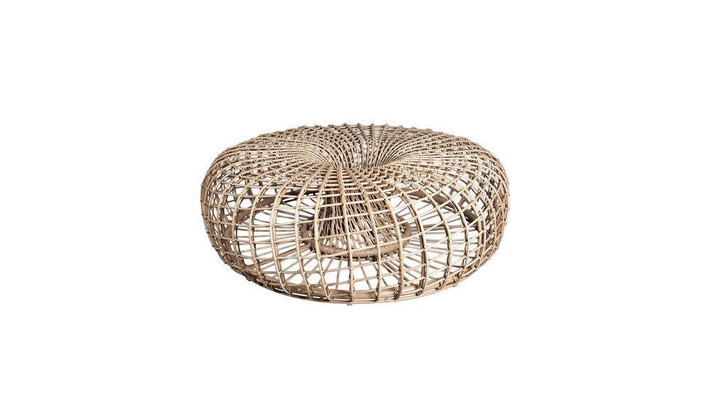 Nest | Voetenbank / Salon tafel | Naturel