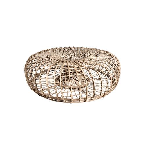 Cane-Line tuinmeubelen  Nest   Voetenbank / Salon tafel   Naturel