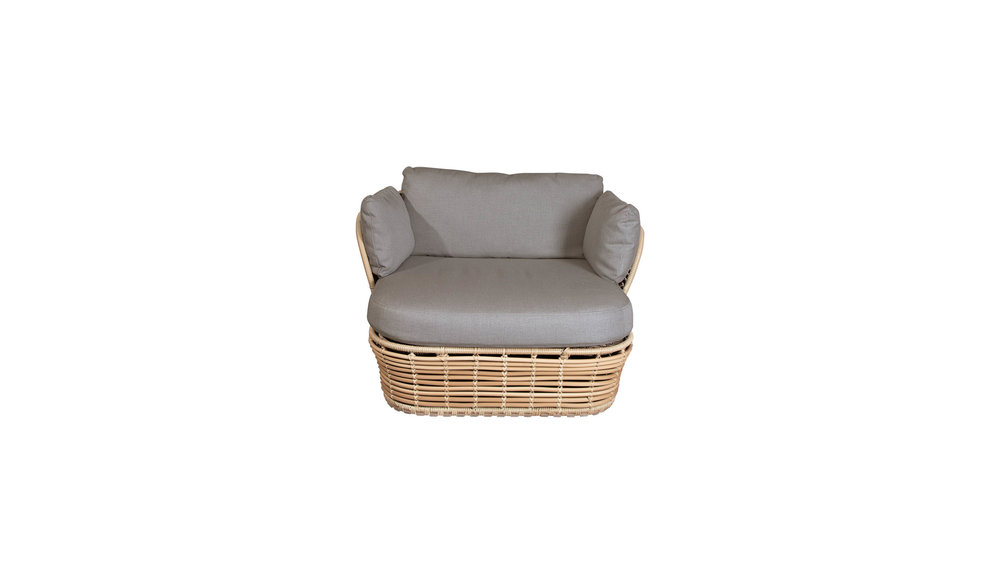 Basket loungestoel | 2 kleuren