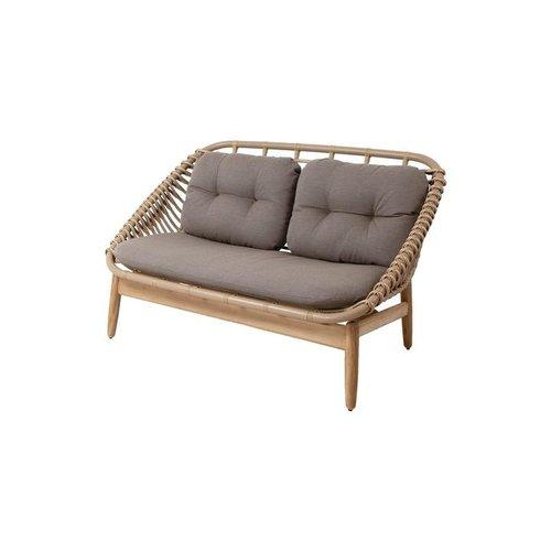 Cane-Line String loungebank | 2-zits