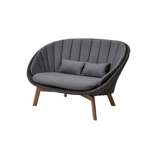 Cane-Line Peacock 2 zits  loungebank incl kussen