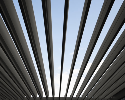 Rota | Terrasoverkapping | Mat Grijs | 360x530x250cm