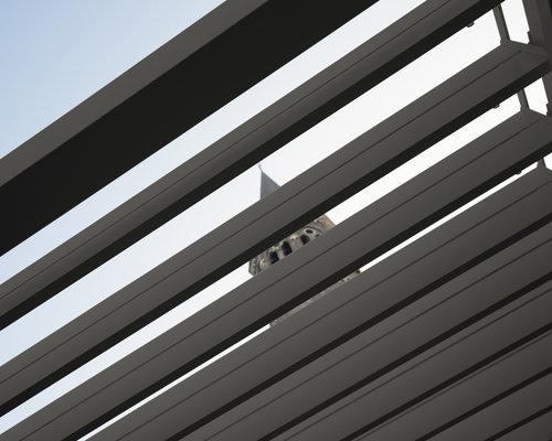 Rota | Terrasoverkapping | Mat Grijs | 360x600x250cm