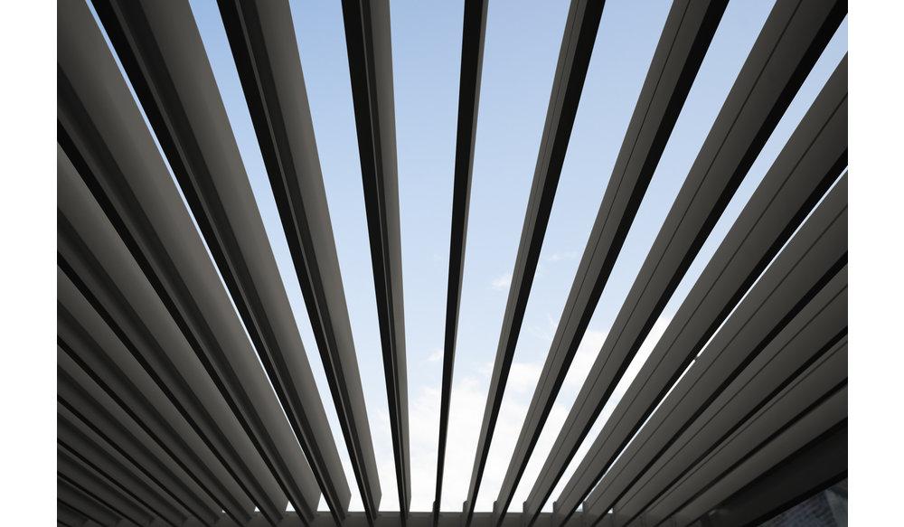 Rota | Terrasoverkapping | Mat Grijs | 360x720x250cm