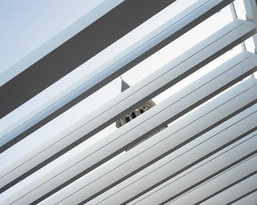 Rota | Terrasoverkapping | Mat Wit | 360x540x250cm