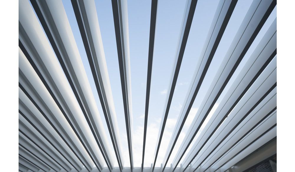 Rota | Terrasoverkapping | Mat Wit | 360x720x250cm