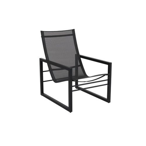 Brafab  Vevi Loungestoel aluminium | Brafab