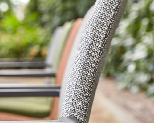 Anzio tuinstoel | Mat Royal Grey