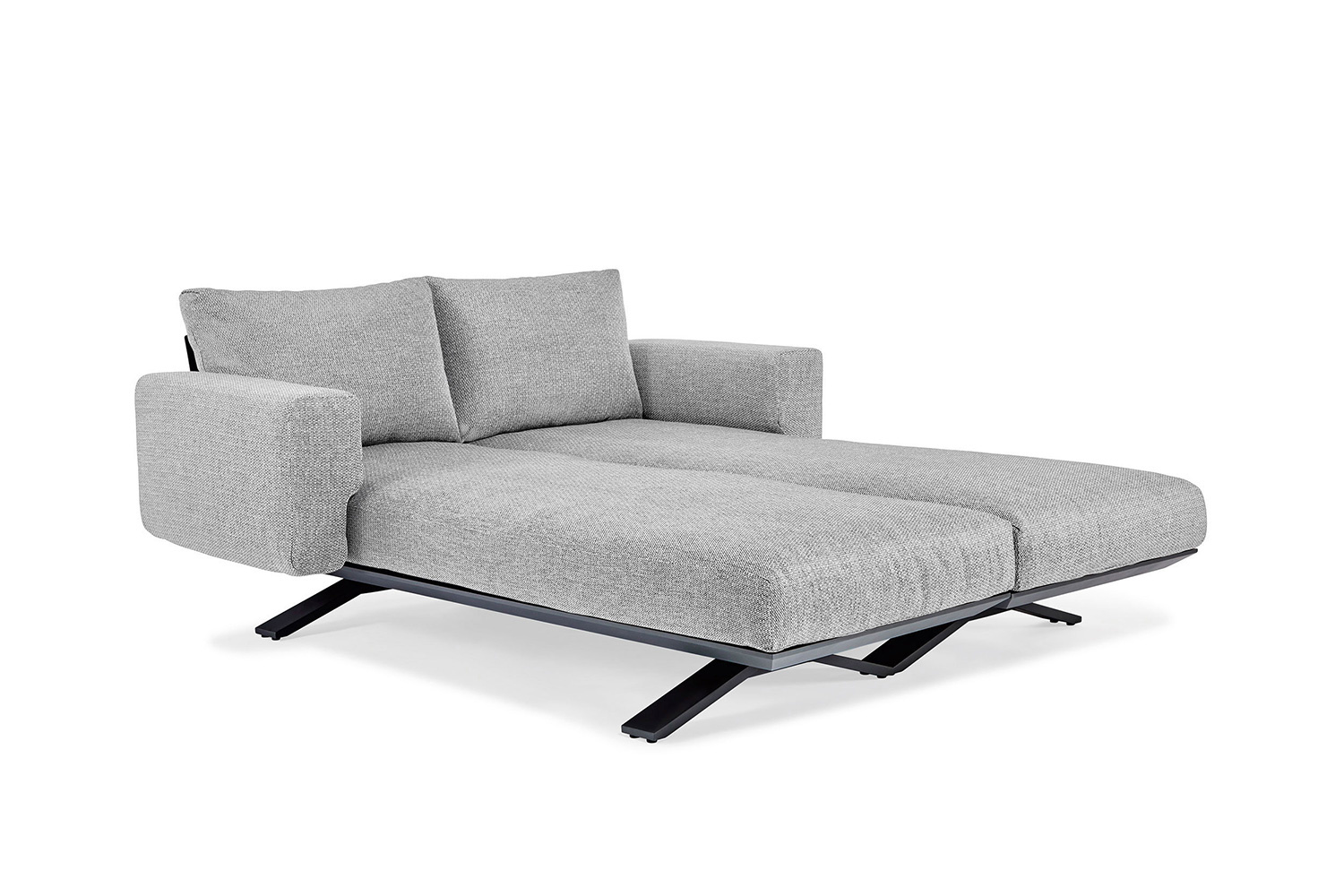 SUNS tuinmeubelen Stockholm Daybed  Matt Royal Grey frame