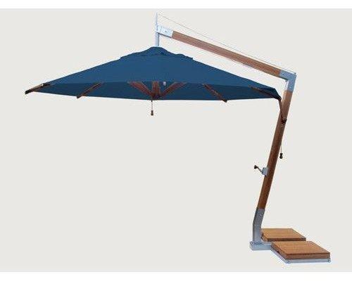 Parasol Side Wind | Div. Kleuren | 3.4x3.4M | Vierkant