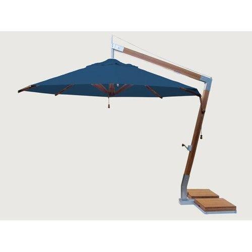 Bambrella parasols Bambrella Parasol Side Wind |  Div. Kleuren |  3.4x3.4M | Vierkant