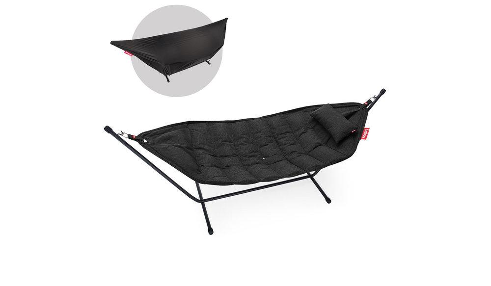 Hangmat Headdemock | Sunbrella Deluxe Thunder Grey