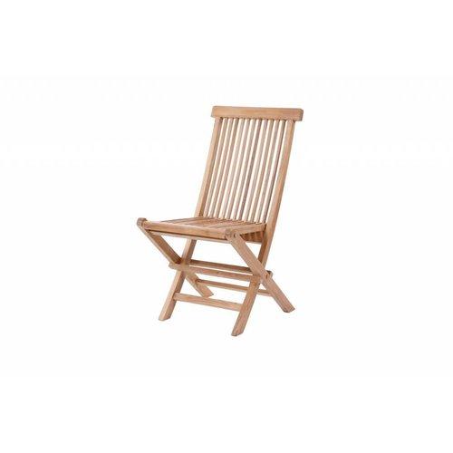 Garden Teak Viking klapstoel - Lage rug