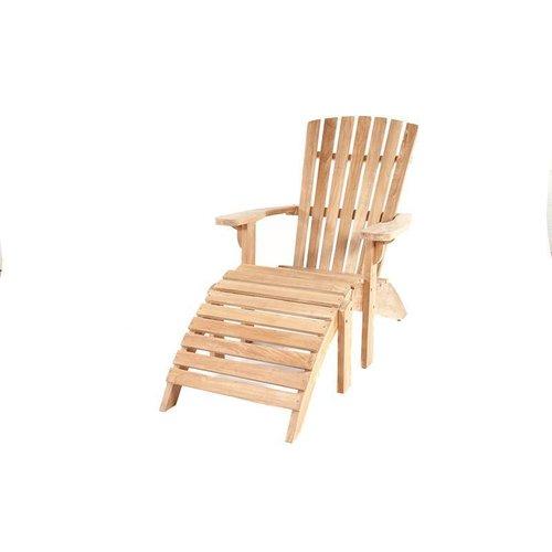Garden  Teak tuinmeubelen Beach Chair