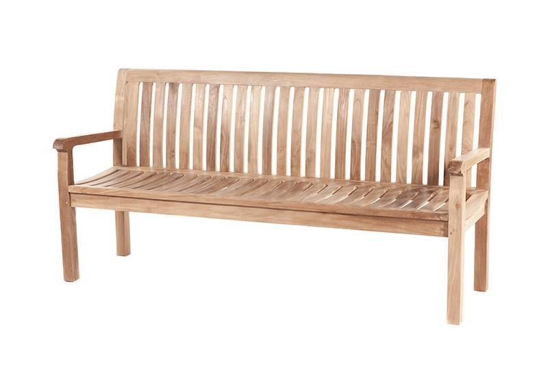 Garden  Teak tuinmeubelen Tuinbank Comfort 180 cm