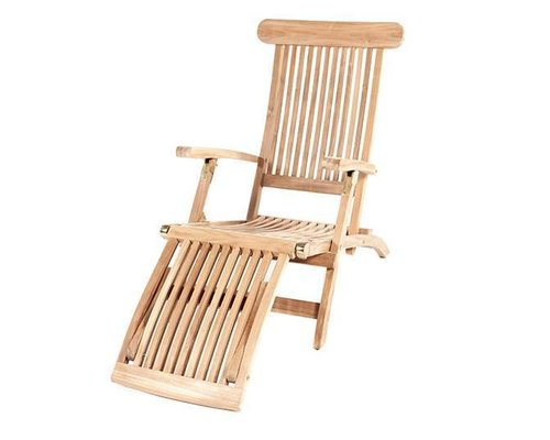 Teak Deckchair - Kingston