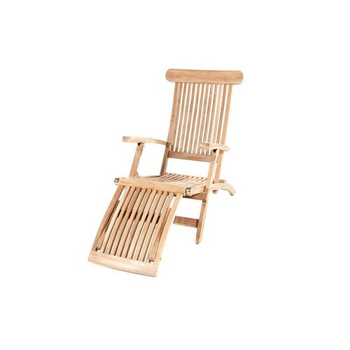 Garden  Teak tuinmeubelen Teak Deckchair - Kingston