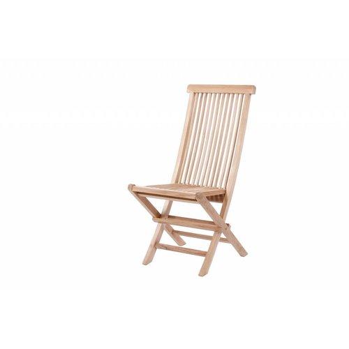 Garden Teak Viking klapstoel - Hoge rug
