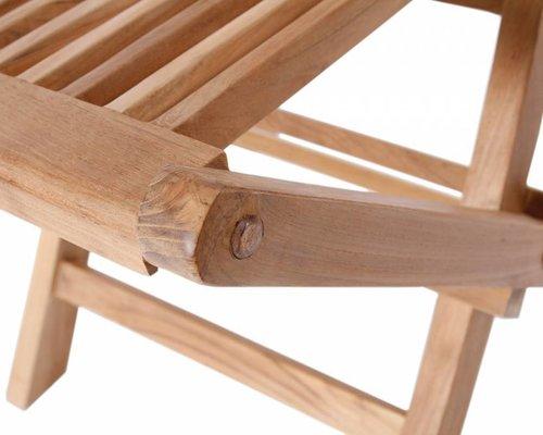 Viking klapstoel - Hoge rug