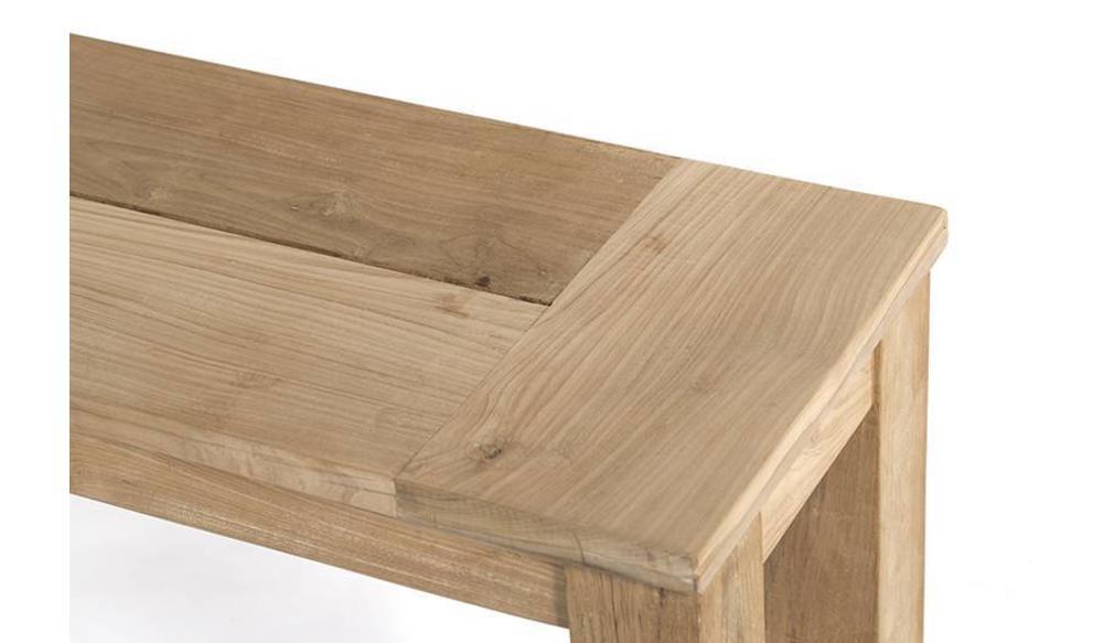 Tuinbank James (zonder rug) | 270 cm