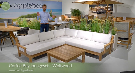 Video uitleg: Loungeset Coffee Bay