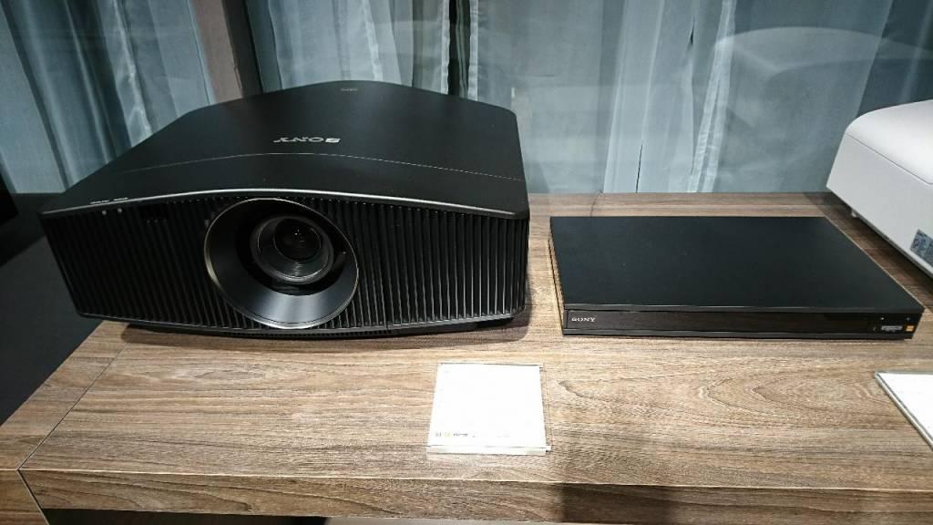Die neuen Sony Beamer VPL VW 260 und VPL VW760...