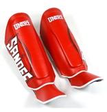 Sandee Sandee Shin Guards Cool Tec Red