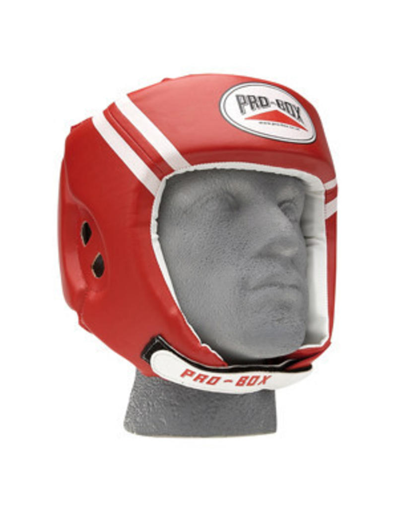 Probox Pro Box Boxing Headguard - Red