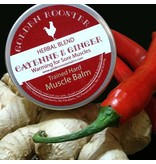 Golden Rooster Balms Trained Hard Cayenne & Ginger Warming Balm
