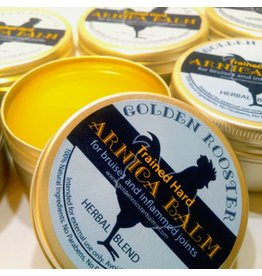 Golden Rooster Balms Trained Hard Arnica Balm