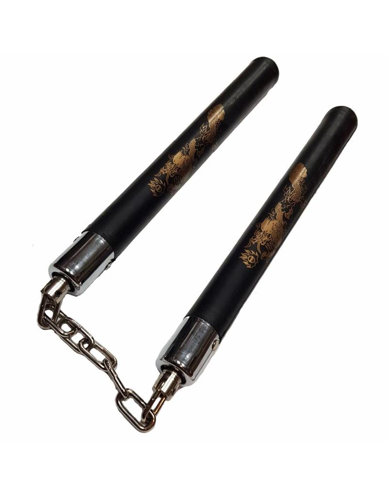 Enso Martial Arts Shop Hard rubber Nunchaku