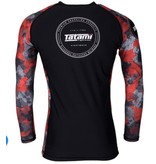 Tatami Tatami Renegade Red Camo Longsleeve Rash Guard