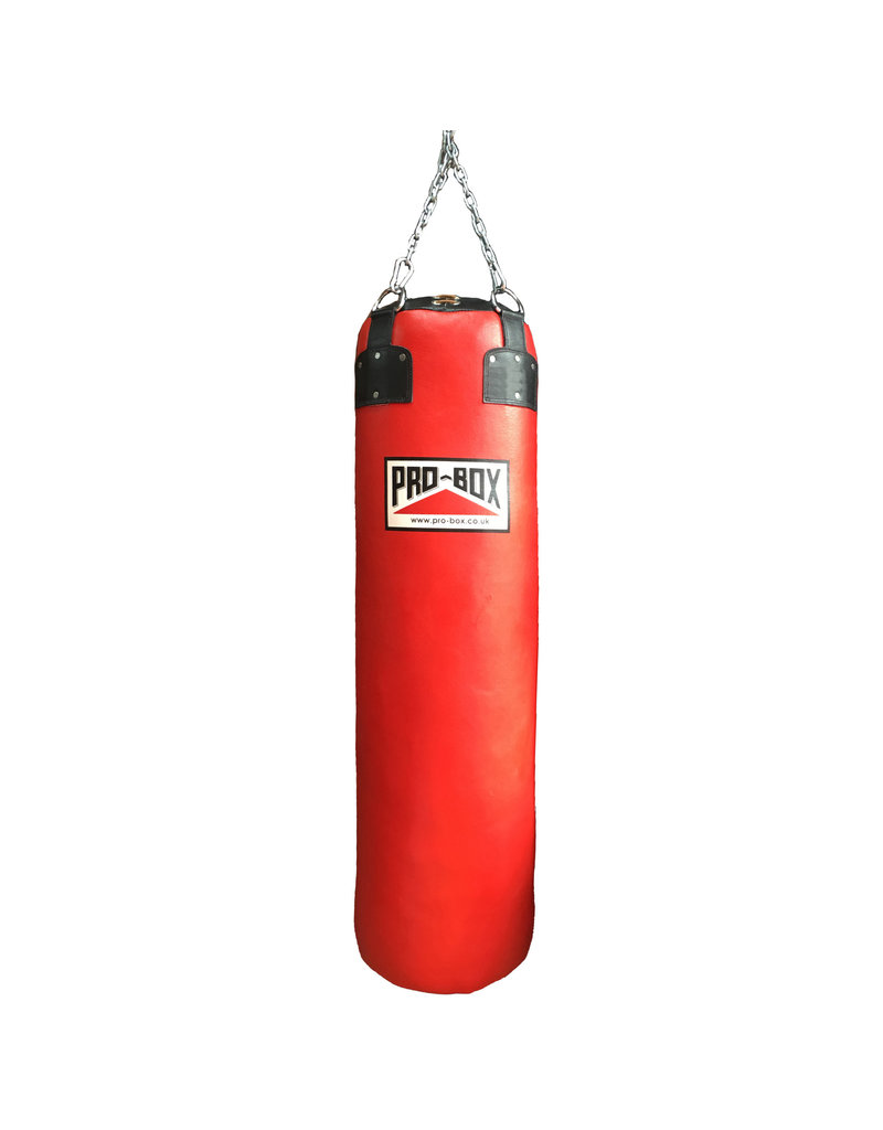 Probox Leather 4ft Punch Bag at 35kg by Pro Box