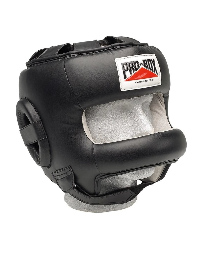 Probox Pro Box Leather Headguard with Bar