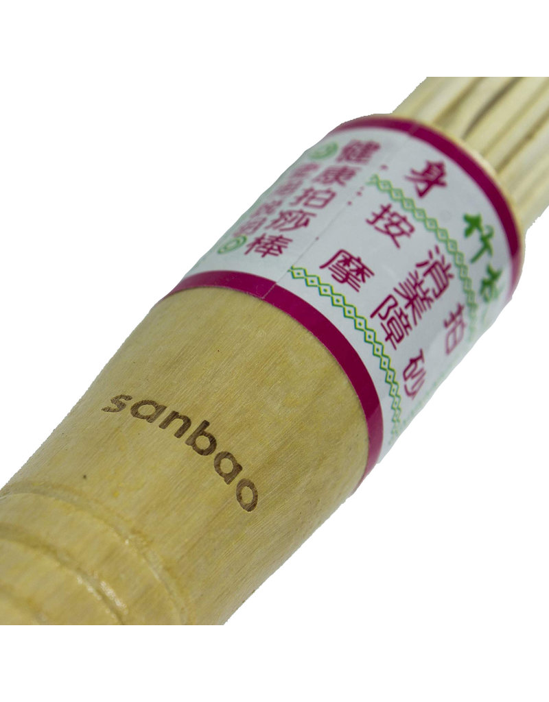 Sanbao Iron Shirt Bamboo Massage Brush
