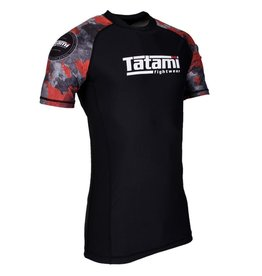 Tatami Tatami Renegade Red Camo Short sleeve Rash Guard