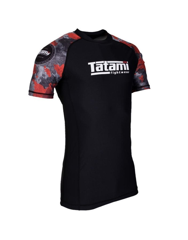 Tatami Tatami Renegade Red Camo Short sleeve Rash Guard