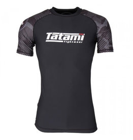 Tatami Tatami Renegade Grey Camo Short sleeve Rash Guard