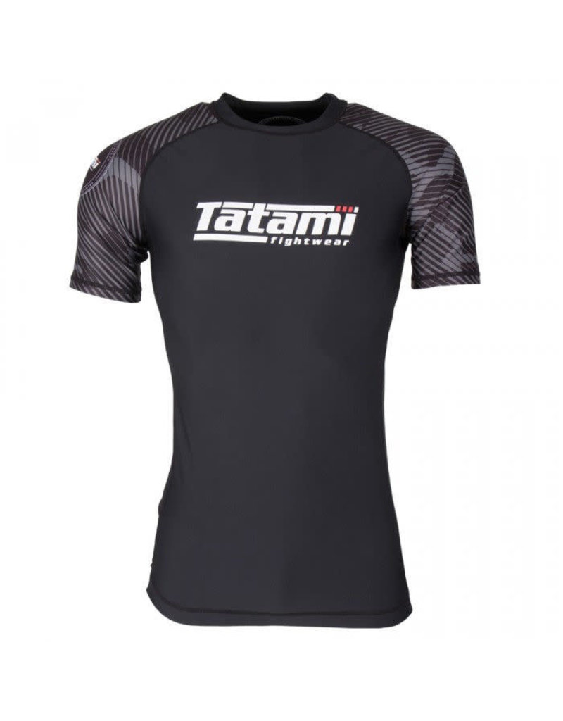Tatami Tatami Renegade Grey Camo Short sleeve Rash Guard