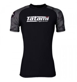 Tatami Tatami Renegade Green Camo Short sleeve Rash Guard