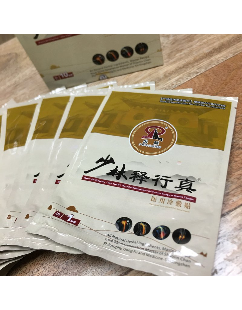 Enso Martial Arts Shop Shaolin Temple Dit Da Jow Patches (x10)