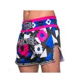 Sandee Sandee Thai Shorts Inca  Pink & Blue
