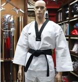 Tusah Taekwondo  WT Approved Dobok Black Collar