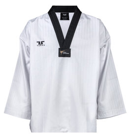Tusah Taekwondo  WT Approved Dobok Black Collar