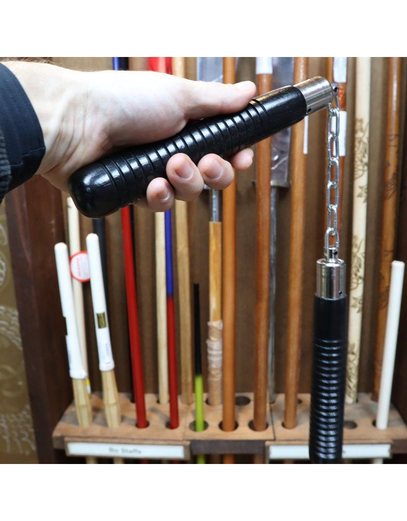 Enso Martial Arts Shop Black 8 inch Nunchaku