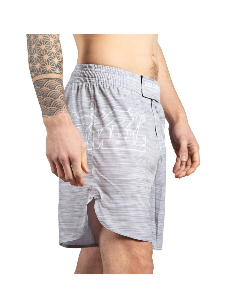 Scramble Scramble Grey MMA Shorts